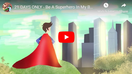 How To Be A Superhero Book For Kids Trailer
